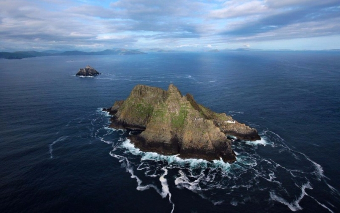The Skelligs (Aerial)